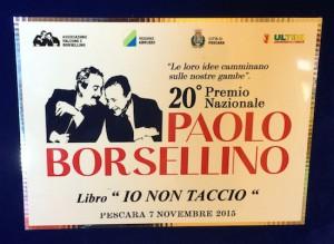 mastrogiovanni  e altri autori targa premio borsellino