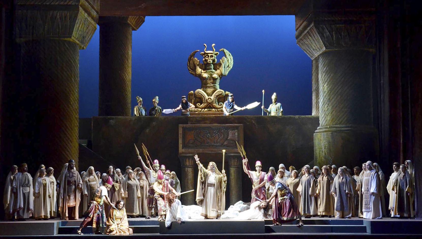"Petruzzelli: un Nabucco in stile ""peplum"""