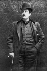Italian operatic composer Giacomo Puccini (1858 - 1924), circa 1900. (Photo by Hulton Archive/Getty Images)