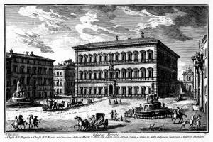 06_palazzo Farnese in un'incisione di G. Vasi