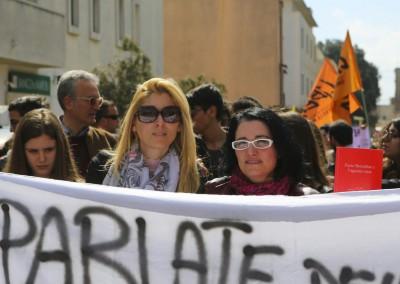 Con Luciana Esposito