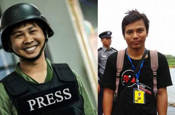 """Il premio """"Unesco Guillermo Cano Press Freedom Prize"""" a Kyaw Soe Oo e Wa Lone del Myanmar"""