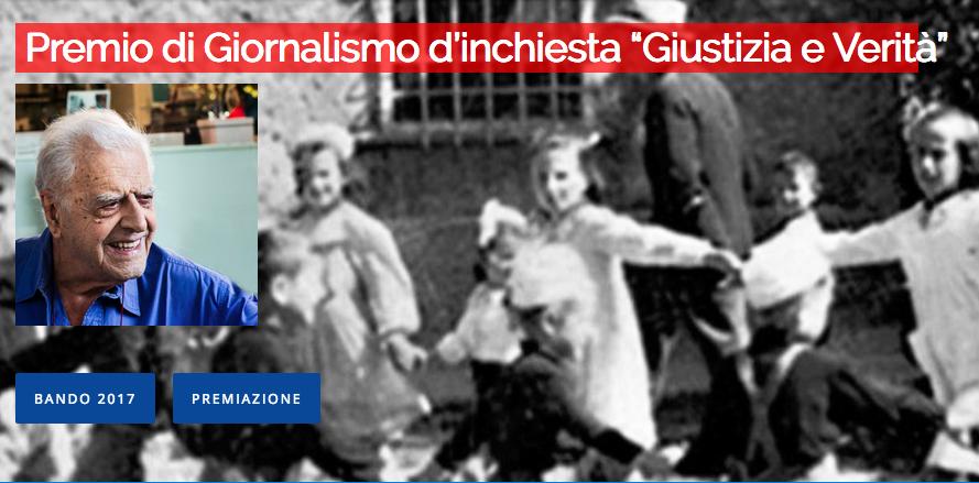 """HO VINTO IL PREMIO FRANCO GIUSTOLISI """"GIUSTIZIA E VERITA'"""""""