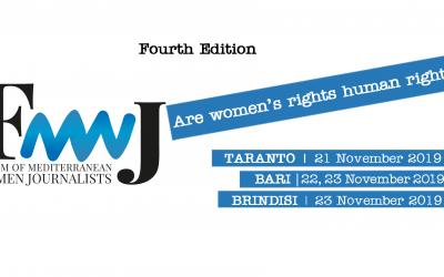 Forum delle Giornaliste del Mediterraneo, per la quarta volta al via