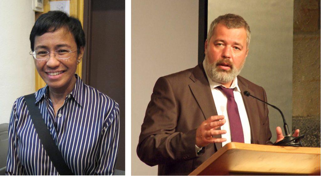 Nobel a Ressa e Muratov: il giornalismo come presidio di democrazia, dunque di pace